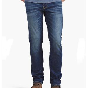 Lucky Brand authentic skinny blue jeans